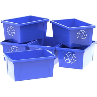 5.5 Gallon (21L) Recycle Bin (Case of 6)