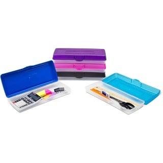 Storex Long Pencil Case (12 units/pack)