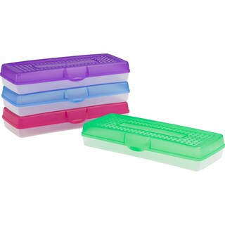 Storex Long Pencil Case (12 units/pack)