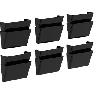Storex Recycled Wall Files Letter (Pack of 6)