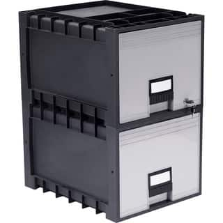 Plastic Archive Storage Box with Lock Letter Size 18-Inch Drawer|https://ak1.ostkcdn.com/images/products/10856414/P17895813.jpg?impolicy=medium