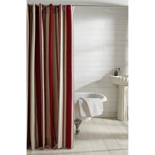 Buy Red Stripe Shower Curtains Online At Overstock