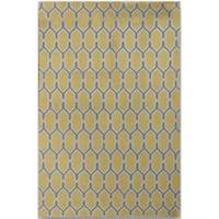 Sonora Yellow Flat-weave Rug - 5' x 8'
