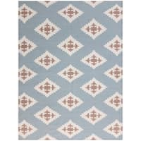 Sonora Blue Flat-weave Rug - 8' x 10'