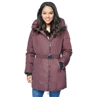 Nuage Women's Provence Down Parka With Faux Fur Hood