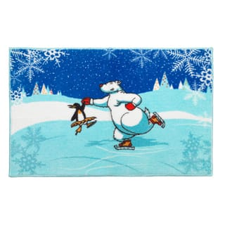 Ice Dancers Holiday Themed Christmas Bath Rug|https://ak1.ostkcdn.com/images/products/10856473/P17895838.jpg?impolicy=medium