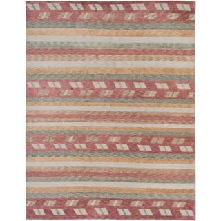ecarpetgallery Aurora Brown Wool Rug (9' x 11')