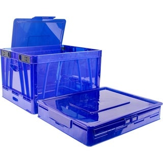 Storex Collapsible Crate with Lid (5 options available)