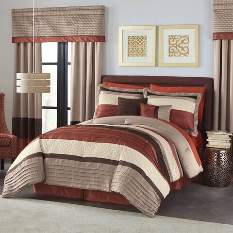 Hamilton Hall Ember 6 Piece Comforter Set