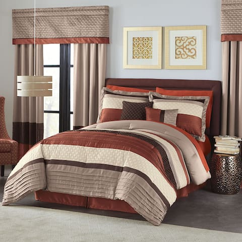 Hamilton Hall Ember 6 Piece Comforter Set