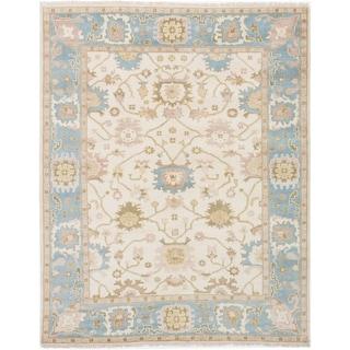 ecarpetgallery Royal Ushak Beige Oriental Wool Rug (8' x 10')