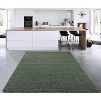 Sweet Home Stores Cozy Shag Solid Color Shag Rug (3' X 5') - 3'3 X 5'