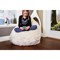 Big Joe Lux Stop Ottoman Bean Bag Free Shipping Today