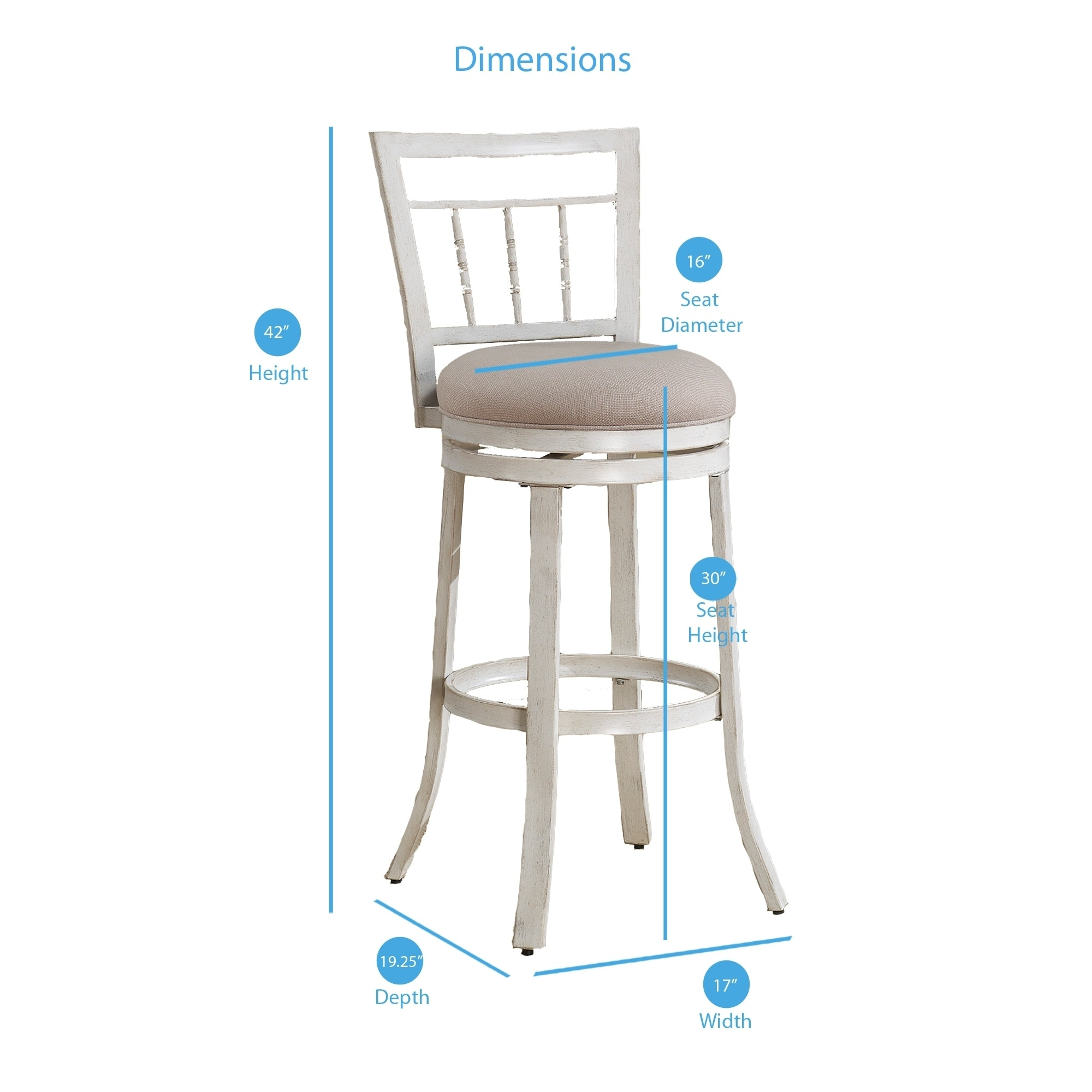 Gaby 30 Inch Bar Stool By Greyson Living On Sale Overstock 10856805