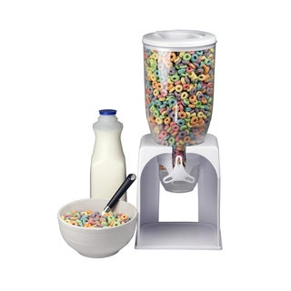 Home Basics White Cereal Dispensers
