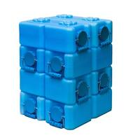 WaterBrick Blue 3.5-gallon BPA Free Water Storage Container (Pack of 8)