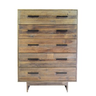Angora Wood Base Mid-century Style Chest