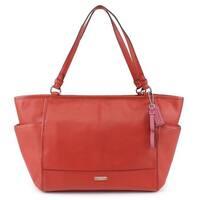 Coach Park Leather Carryall Tote Shoulder Bag