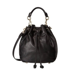 Rebecca Minkoff Fiona Bucket Shoulder Bag - Black