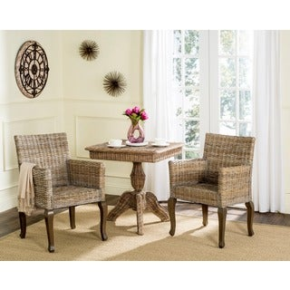 Safavieh Rural Woven Dining Armando Natural Dining Chairs (Set of 2)