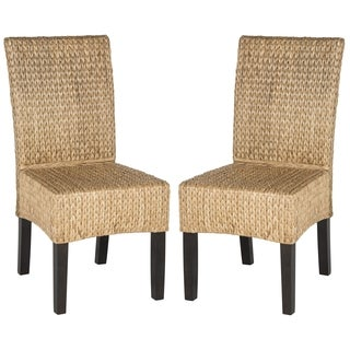 Safavieh Rural Woven Dining Luz Natural Dining Chairs (Set Of 2)