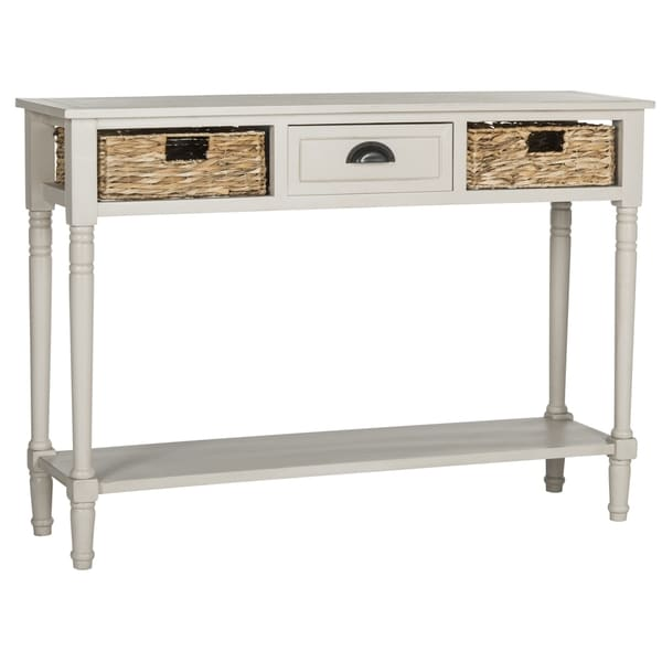 Safavieh Christa Vintage Grey Console Storage Table