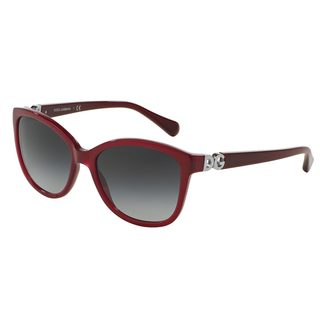 Dolce & Gabbana Women's DG4258 Red Plastic Square Sunglasses