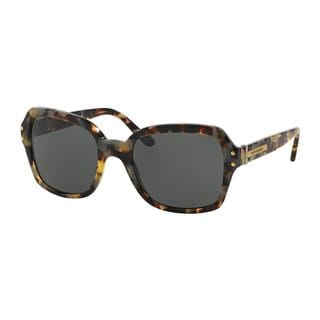 Tory Burch Women's TY7082 Tortoise Plastic Square Sunglasses