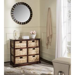 Safavieh Keenan Cherry 6-Drawer Wicker Basket Storage Chest|https://ak1.ostkcdn.com/images/products/10857162/P17896397.jpg?impolicy=medium