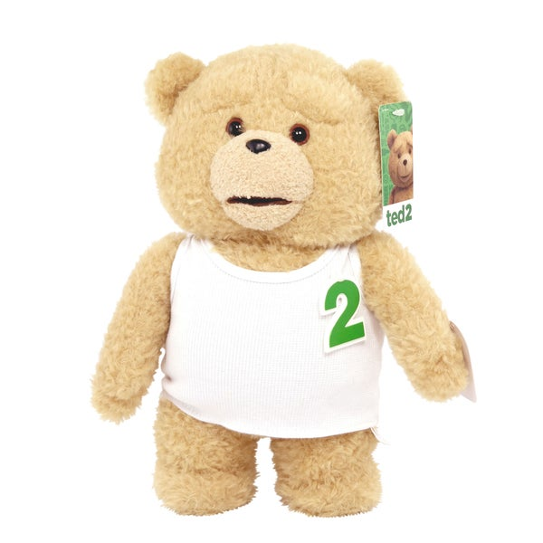 Commonwealth Toys Ted in Tank Top 11-inch Plush Bear