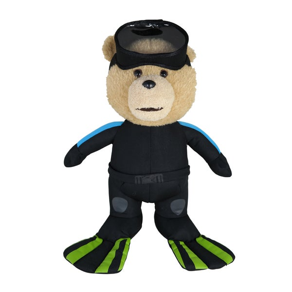 Commonwealth Toys Ted in Scuba Outfit 11-inch Bear