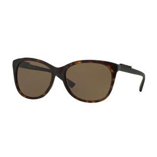 DKNY Women's DY4126 Tortoise Plastic Square Sunglasses