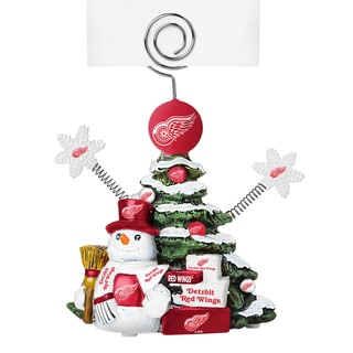 Detroit Red Wings Cast Porcelain Tree Photo Holder