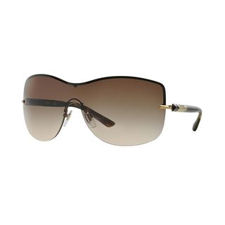 DKNY Women's DY5081 Gold Metal Square Sunglasses