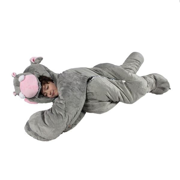 SnooZzoo Hippo Sleeping Bag