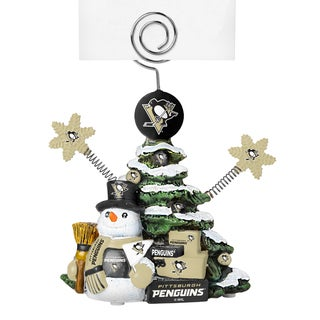 Pittsburgh Penguins Cast Porcelain Tree Photo Holder