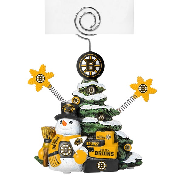 Boston Bruins Cast Porcelain Tree Photo Holder