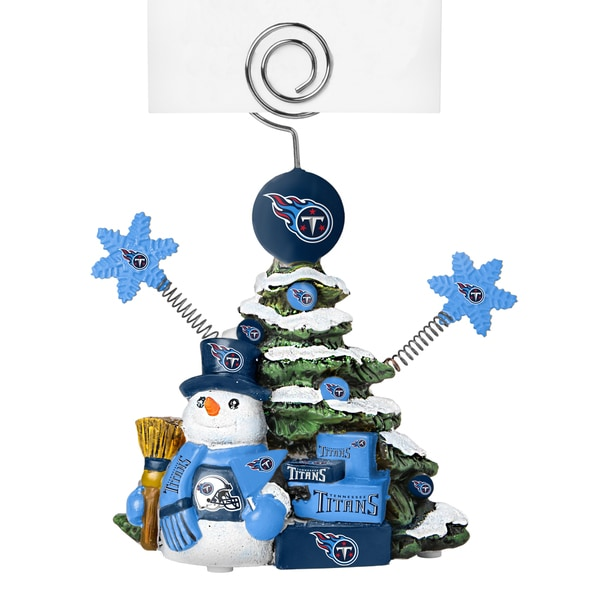 Tennessee Titans Cast Porcelain Tree Photo Holder