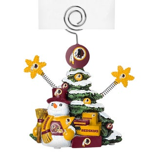 Washington Redskins Cast Porcelain Tree Photo Holder