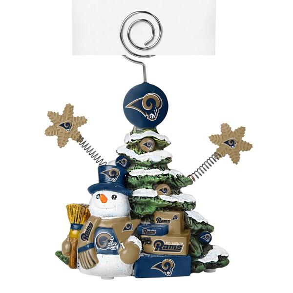 St. Louis Rams Cast Porcelain Tree Photo Holder