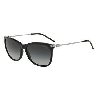 Emporio Armani Women's EA4051 Black Plastic Square Sunglasses