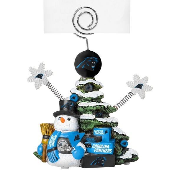Carolina Panthers Cast Porcelain Tree Photo Holder