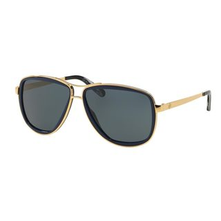 Tory Burch Women's TY6040 Gold Metal Pilot Sunglasses