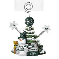 New York Jets Cast Porcelain Tree Photo Holder