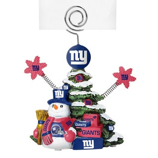 New York Giants Cast Porcelain Tree Photo Holder