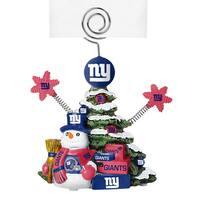 New York Giants Cast Porcelain Tree Photo Holder
