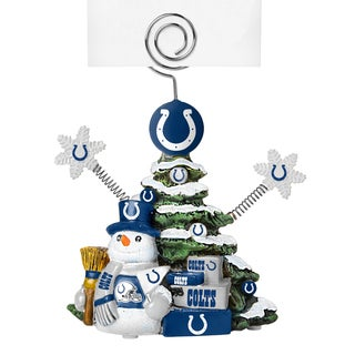 Indianapolis Colts Cast Porcelain Tree Photo Holder