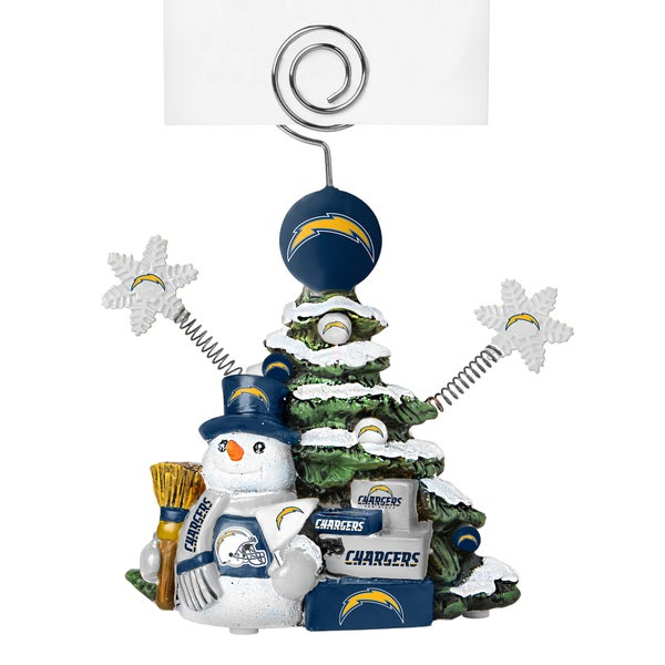 San Diego Chargers Cast Porcelain Tree Photo Holder