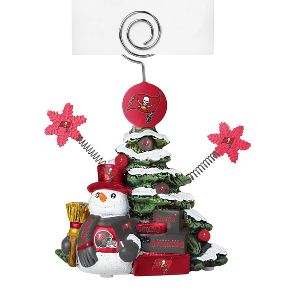 Tampa Bay Buccaneers Cast Porcelain Tree Photo Holder