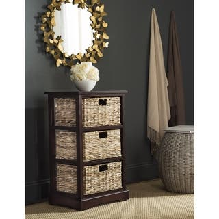 Safavieh Halle Cherry 3 Wicker Basket Storage Unit|https://ak1.ostkcdn.com/images/products/10857340/P17896651.jpg?impolicy=medium